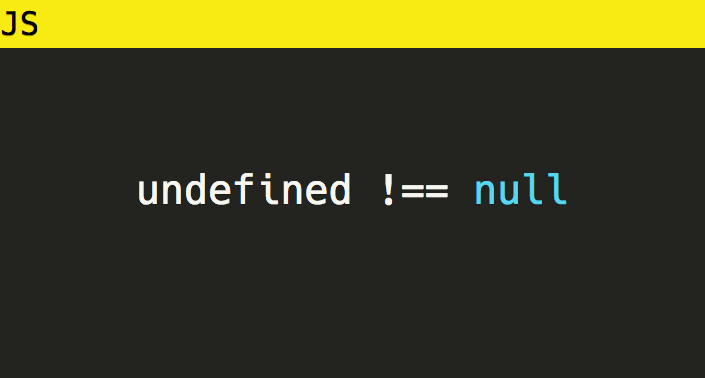 Javascript Unterschied Null Undefined